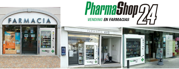 vending farmacias, pharmashop, maquinas vending