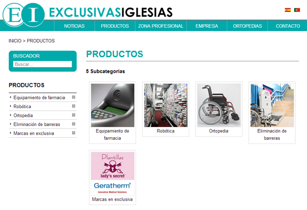 Novo site - Exclusivas Iglesias