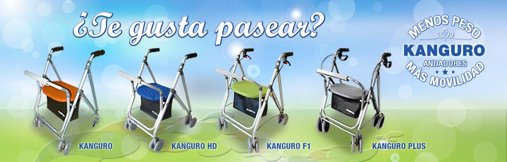 Andadores KANGURO: Menos Peso-Más Movilidad