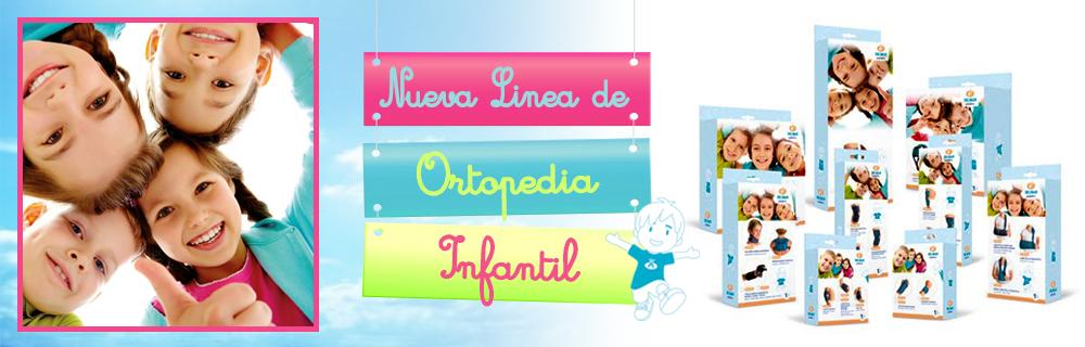 Nueva linea de ortopedia Infantil