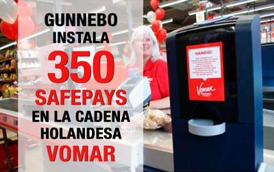 350 nuevas instalaciones de sistemas de gestión de efectivo Safapay