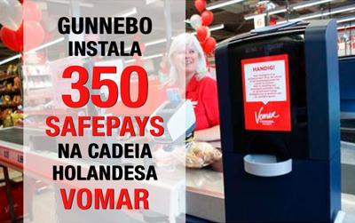 350 novas instalações dos gestores de dinheiro Safepay