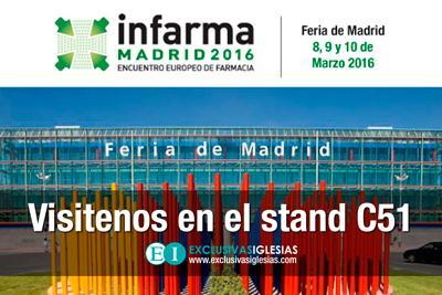 Asistencia INFARMA 2016 de Exclusivas Iglesias