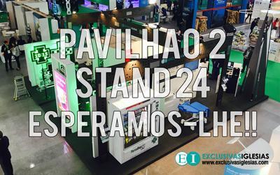 Planta da Expofarma Lisboa 2016 com Exclusivas Iglesias