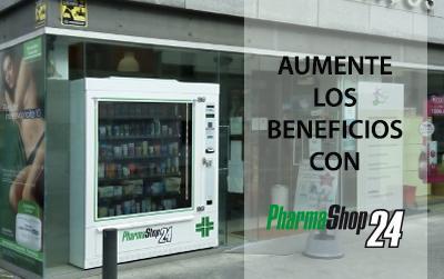 Incremento de los beneficios con la máquina expendedora de farmacia Pharmashop24