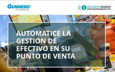 La nueva web de Gunnebo para la gestión de efectivo