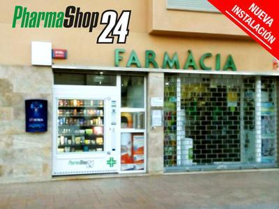 Maquina vending para farmacia PharmaShop24