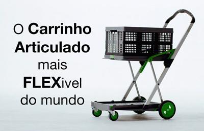 carrinho articulado Flex