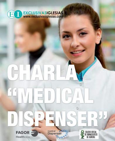 Charla informativa del Medical Dispenser en el COF de Ourense.