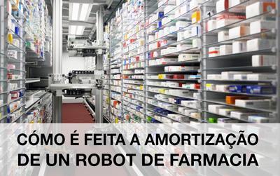 Robô de farmácia para almacenamento y distribução de medicamentos