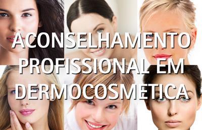 Aconselhamento profissional dermocosmetica Analizador de pele