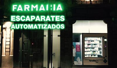 Escaparates automatizados con PharmaShop24