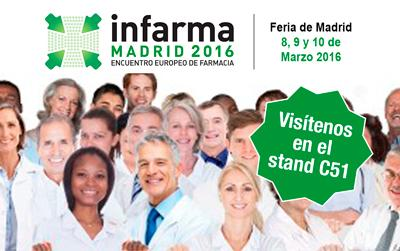 Exclusivas Iglesias en INFARMA 2016