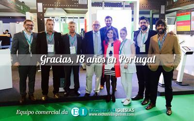 Equipo comercial de Exclusivas Iglesias en EXPOFARMA 2016