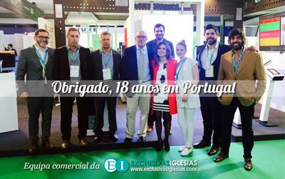 Obrigado 18 anos em Portugal na Expofarma