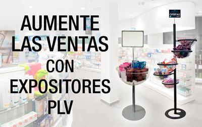 Expositores PLV y complementos para la farmacia