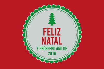 Feliz Natal e prospero ano de 2016