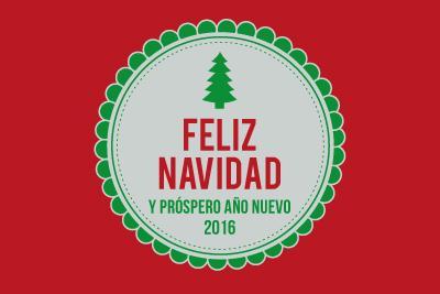 Les deseamos Feliz Navidad 2015