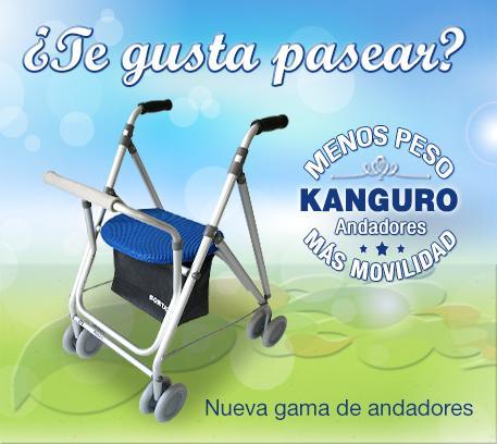 Portada andador Kanguro - Exclusivas Iglesias