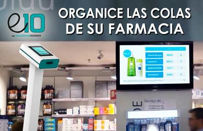 Gestion de turnos colas e10 farmacia