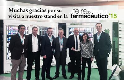 Gracias por su asistencia a la Feira do Farmaceutico Lisboa 2015
