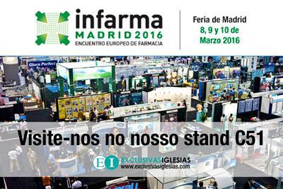 Feira de farmácia INFARMA Espanha 2016