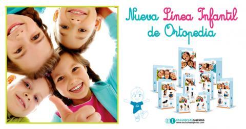 Banner línea infantil de ortopedia pediatric portugués - Exclusivas Iglesias