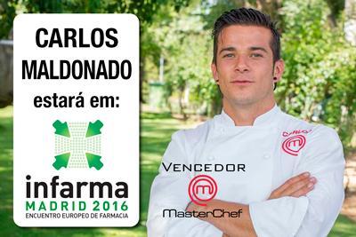 Chef Carlos Maldonado de Masterchef em INFARMA 2016