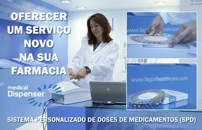 Blisters de medicamentos personalizados Medical Dispenser
