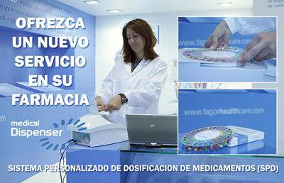 Blisters personalizados de medicamentos SPD Medical dispenser