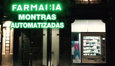PharmaShop24 montras automatizadas pela farmácia