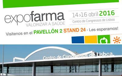 Nos vamos a EXPOFARMA Lisboa 2016
