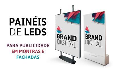 Painéis de leds para publicidade em fachadas e montras de farmácia