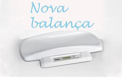 Novo balança para bebê Confort