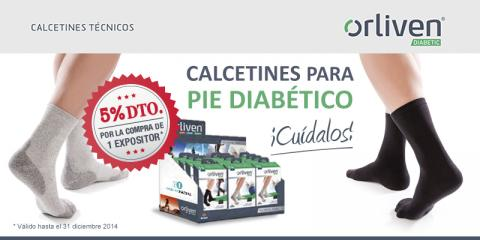 Newsletter calcetines para pie diabético de Orliven - Exclusivas Iglesias
