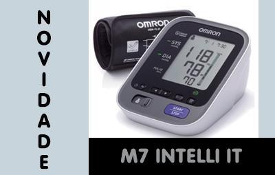 Novidade: Tensiômetro M7 Intelli IT