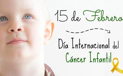 15 de febrero, Día Internacional del Cáncer Infantil