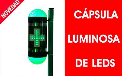 Cápsula luminosa de leds para farmacia