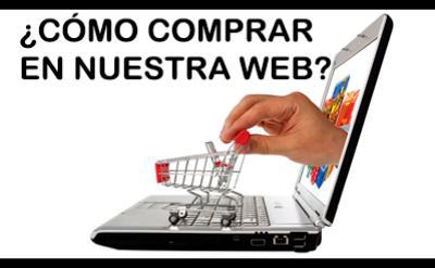 ¿Cómo comprar en nuestra página web?