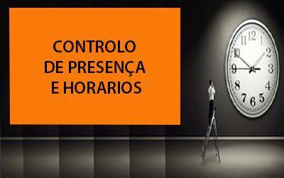 Sistema de controlo de presença, horarios e acesso a porta