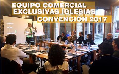Convención del equipo comercial de Exclusivas Iglesias