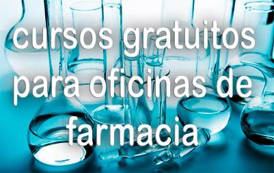 Cursos de formación gratuitos para oficinas de farmacia