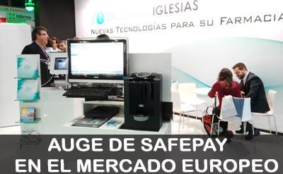 España lidera el mercado europeo en las ventas del Sistema de gestión de efectivo, Safepay