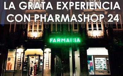 La grata experiencia con Pharmashop24