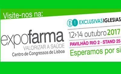 Estaremos en Expofarma Lisboa 2017 - Stand 25 Pabellón 2