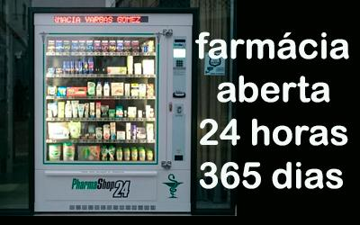 Farmácia aberta 24 horas com Pharmashop24