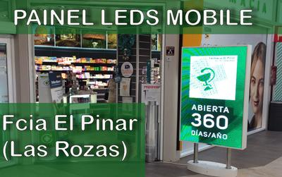 Painel de LEDs Mobile na Farmacia El Pinar (Las Rozas - Madrid - España)