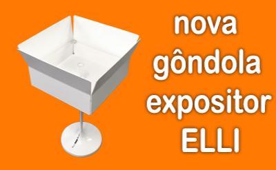 Novos expositores para sua farmácia: Elli
