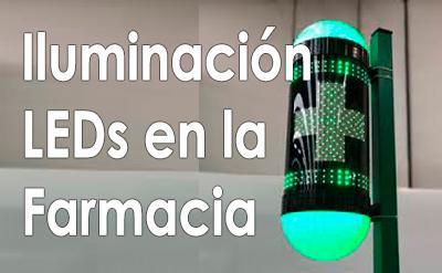 La iluminación LED en la farmacia