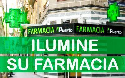 ¿Cómo destacar su farmacia con la iluminación exterior?